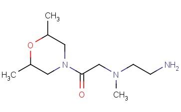 2-[(2-AMINOETHYL)(METHYL)AMINO]-1-(2,6-DIMETHYLMORPHOLIN-4-YL)ETHAN-1-ONE