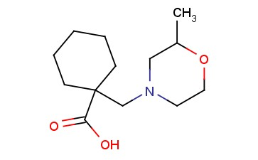 1-[(2-METHYLMORPHOLIN-4-YL)METHYL]CYCLOHEXANE-1-CARBOXYLIC ACID