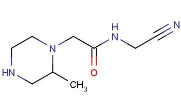 N-(CYANOMETHYL)-2-(2-METHYLPIPERAZIN-1-YL)ACETAMIDE