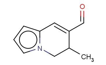 5,6-DIHYDRO-6-METHYL-7-INDOLIZINECARBOXALDEHYDE