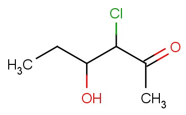 2-HEXANONE, 3-CHLORO-4-HYDROXY-
