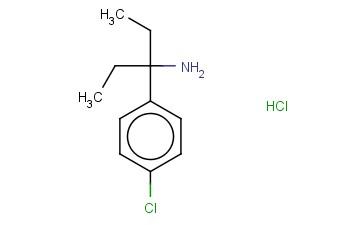 3-(4-CHLOROPHENYL)PENTAN-3-AMINE HYDROCHLORIDE