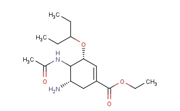 (3R,5S)-ETHYL 4-ACETAMIDO-5-AMINO-3-(PENTAN-3-YLOXY)CYCLOHEX-1-ENECARBOXYLATE