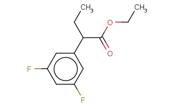 ALPHA-ETHYL-3,5-DIFLUORO-BENZENEACETIC ACID, ETHYL ESTER