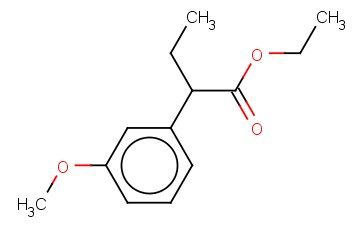 ALPHA-ETHYL-3-METHOXY-BENZENEACETIC ACID, ETHYL ESTER