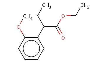 ALPHA-ETHYL-2-METHOXY-BENZENEACETIC ACID, ETHYL ESTER