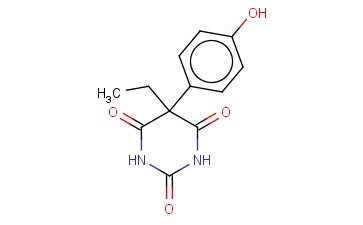 5-ETHYL-5-(P-HYDROXY-PHENYL)BARBITURIC ACID