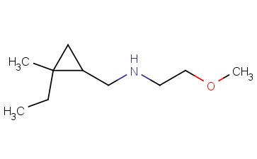 [(2-ETHYL-2-METHYLCYCLOPROPYL)METHYL](2-METHOXYETHYL)AMINE