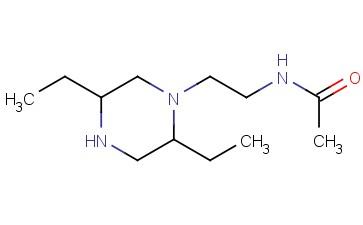 N-[2-(2,5-DIETHYLPIPERAZIN-1-YL)ETHYL]ACETAMIDE