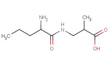 3-(2-AMINOPENTANAMIDO)-2-METHYLPROPANOIC ACID