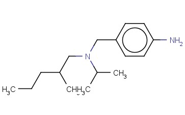 4-([(2-METHYLPENTYL)(PROPAN-2-YL)AMINO]METHYL)ANILINE