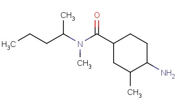 4-AMINO-N,3-DIMETHYL-N-(PENTAN-2-YL)CYCLOHEXANE-1-CARBOXAMIDE