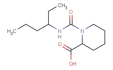 1-[(HEXAN-3-YL)CARBAMOYL]PIPERIDINE-2-CARBOXYLIC ACID