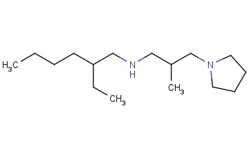 (2-ETHYLHEXYL)[2-METHYL-3-(PYRROLIDIN-1-YL)PROPYL]AMINE