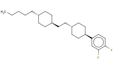 1,2-DIFLUORO-4-(TRANS-4-(2-(TRANS-4-PENTYLCYCLOHEXYL)ETHYL)CYCLOHEXYL)BENZENE