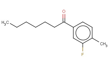 1-(3-FLUORO-4-METHYL-PHENYL)-HEPTAN-1-ONE