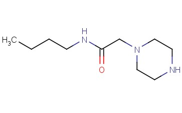 <span class='lighter'>1-PIPERAZINEACETAMIDE</span>, <span class='lighter'>N-BUTYL-</span>