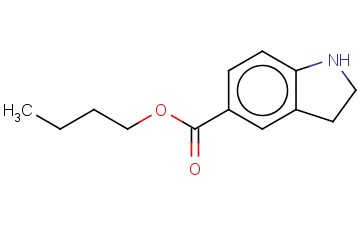 BUTYL 2,3-DIHYDRO-1H-INDOLE-5-CARBOXYLATE