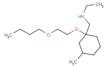 ([1-(2-BUTOXYETHOXY)-3-METHYLCYCLOHEXYL]METHYL)(ETHYL)AMINE