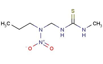 3-METHYL-1-([NITRO(PROPYL)AMINO]METHYL)THIOUREA