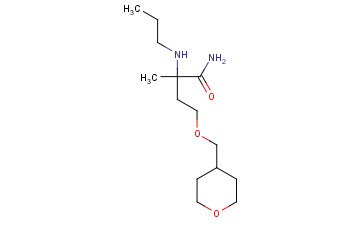 2-METHYL-4-(OXAN-4-YLMETHOXY)-2-(PROPYLAMINO)BUTANAMIDE
