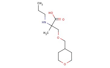 2-METHYL-3-(OXAN-4-YLMETHOXY)-2-(PROPYLAMINO)PROPANOIC ACID