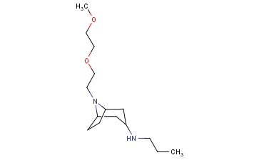 8-[2-(2-METHOXYETHOXY)ETHYL]-N-PROPYL-8-AZABICYCLO[3.2.1]OCTAN-3-AMINE