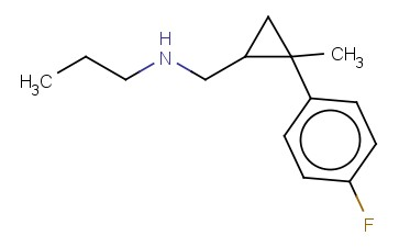 ([2-(4-FLUOROPHENYL)-2-METHYLCYCLOPROPYL]METHYL)(PROPYL)AMINE