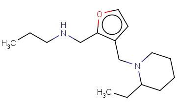((3-[(2-ETHYLPIPERIDIN-1-YL)METHYL]FURAN-2-YL)METHYL)(PROPYL)AMINE