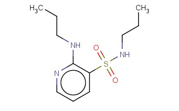 N-PROPYL-2-(PROPYLAMINO)PYRIDINE-3-SULFONAMIDE