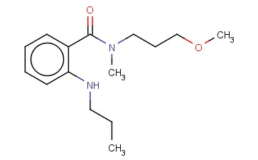 N-(3-METHOXYPROPYL)-N-METHYL-2-(PROPYLAMINO)BENZAMIDE