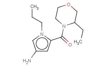 5-[(3-ETHYLMORPHOLIN-4-YL)CARBONYL]-1-PROPYL-1H-PYRROL-3-AMINE