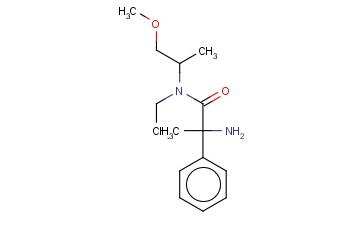 2-AMINO-N-ETHYL-N-(1-METHOXYPROPAN-2-YL)-2-PHENYLPROPANAMIDE