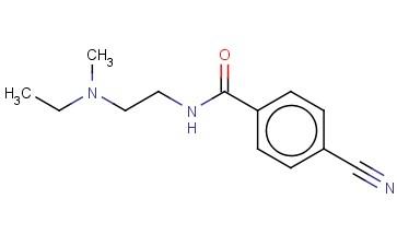 4-CYANO-N-(2-[ETHYL(METHYL)AMINO]ETHYL)BENZAMIDE