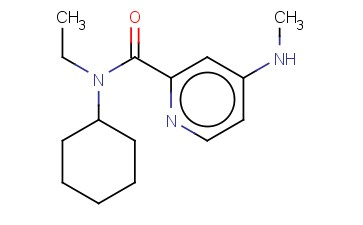 N-CYCLOHEXYL-N-ETHYL-4-(METHYLAMINO)PYRIDINE-2-CARBOXAMIDE
