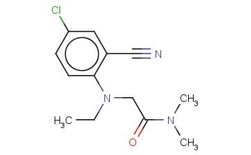 2-[(4-CHLORO-2-CYANOPHENYL)(ETHYL)AMINO]-N,N-DIMETHYLACETAMIDE