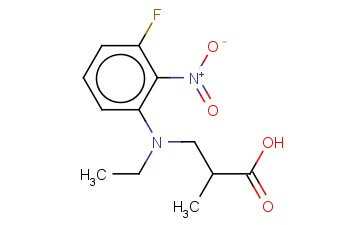 3-[ETHYL(3-FLUORO-2-NITROPHENYL)AMINO]-2-METHYLPROPANOIC ACID