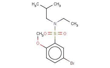 5-BROMO-N-ETHYL-2-METHOXY-N-(2-METHYLPROPYL)BENZENE-1-SULFONAMIDE