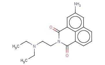 3-AMINO-N-(2-DIETHYLAMINOETHYL)-1,8-NAPHTHALIMIDE