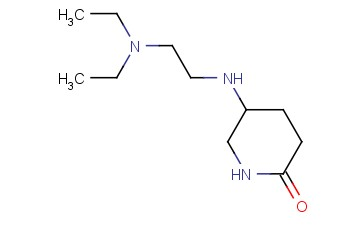 5-([2-(DIETHYLAMINO)ETHYL]AMINO)PIPERIDIN-2-ONE