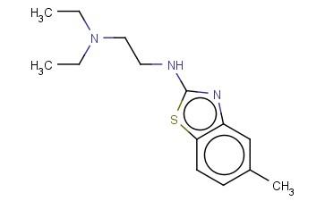 DIETHYL((2-[(5-METHYL-1,3-BENZOTHIAZOL-2-YL)AMINO]ETHYL))AMINE