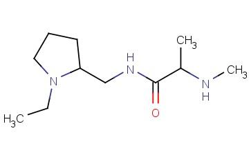 N-[(1-ETHYLPYRROLIDIN-2-YL)METHYL]-2-(METHYLAMINO)PROPANAMIDE
