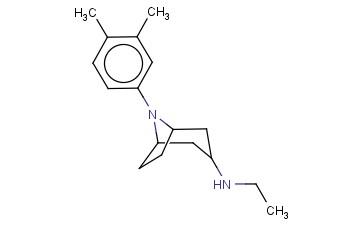 8-(3,4-DIMETHYLPHENYL)-N-ETHYL-8-AZABICYCLO[3.2.1]OCTAN-3-AMINE