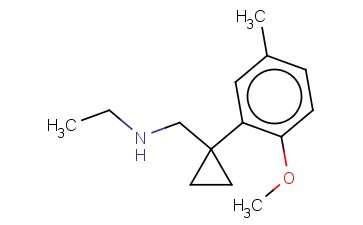 ETHYL(([1-(2-METHOXY-5-METHYLPHENYL)CYCLOPROPYL]METHYL))AMINE