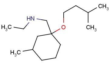 ETHYL(([3-METHYL-1-(3-METHYLBUTOXY)CYCLOHEXYL]METHYL))AMINE