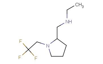 ETHYL(([1-(2,2,2-TRIFLUOROETHYL)PYRROLIDIN-2-YL]METHYL))AMINE