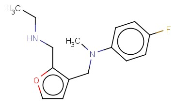 N-((2-[(ETHYLAMINO)METHYL]FURAN-3-YL)METHYL)-4-FLUORO-N-METHYLANILINE