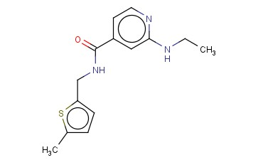 2-(ETHYLAMINO)-N-[(5-METHYLTHIOPHEN-2-YL)METHYL]PYRIDINE-4-CARBOXAMIDE