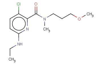 3-CHLORO-6-(ETHYLAMINO)-N-(3-METHOXYPROPYL)-N-METHYLPYRIDINE-2-CARBOXAMIDE