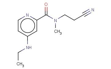 N-(2-CYANOETHYL)-4-(ETHYLAMINO)-N-METHYLPYRIDINE-2-CARBOXAMIDE